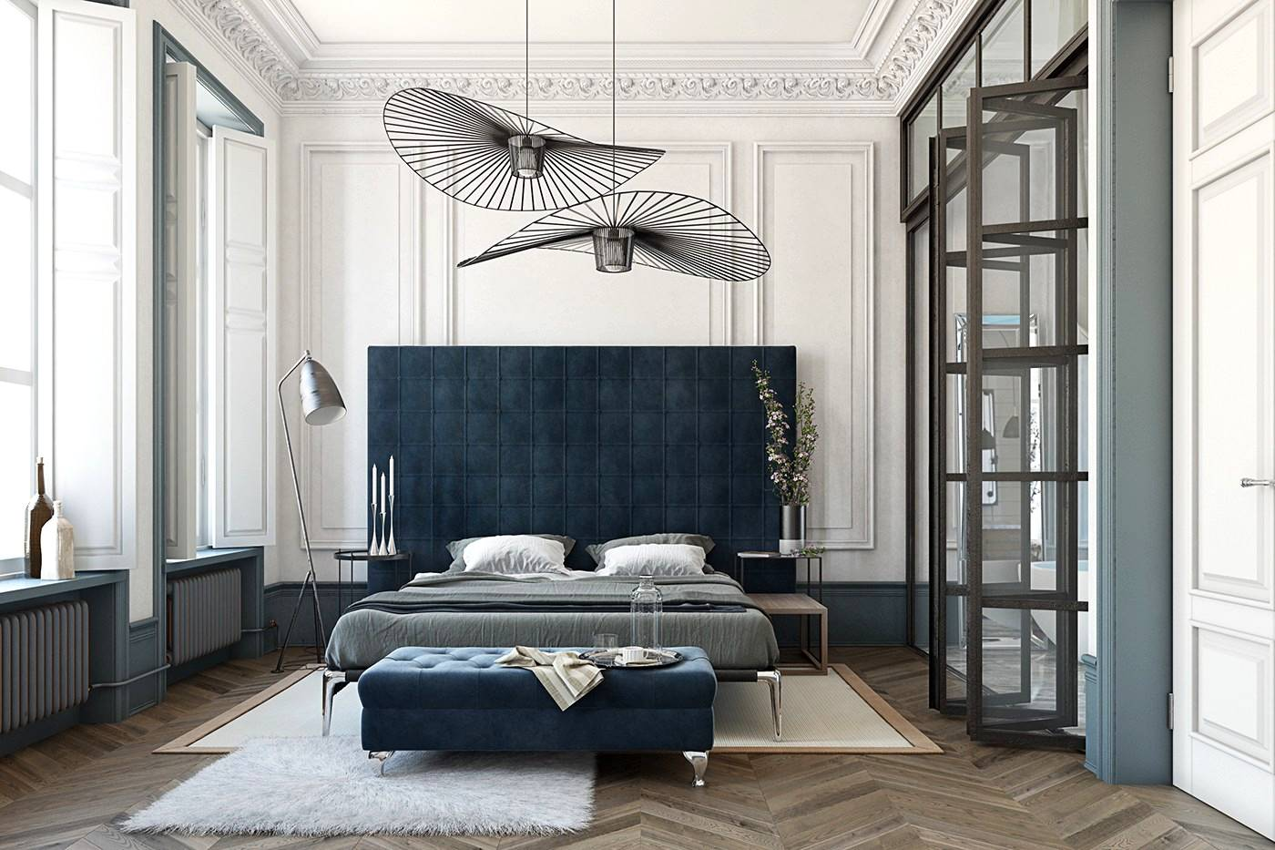 Striking Bedrooms With Distinct Personalities Inspiration