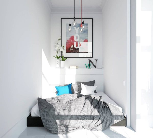 tiny scandinavian bedroom decor ideas