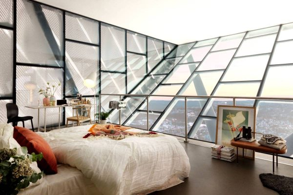 ultra modern scandinavian bedroom inspiration
