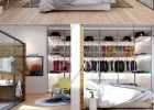 Marvelous Master Bedrooms with Unique Wardrobes Ideas