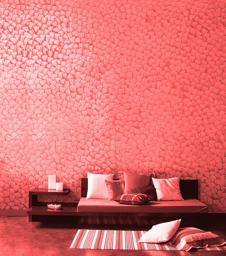 Oriental Color wall design ideas