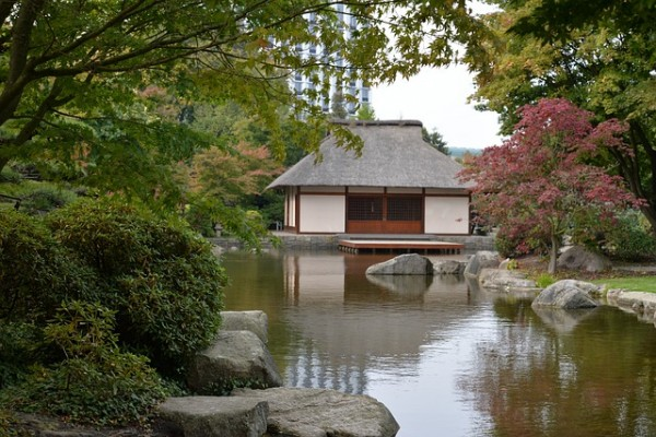 japanese rock garden pictures