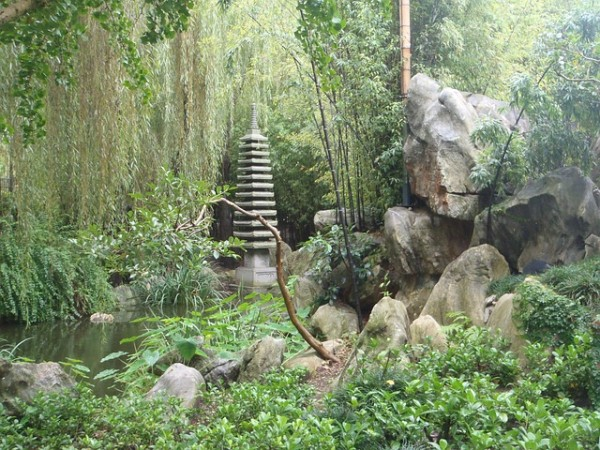japanese small rock garden images