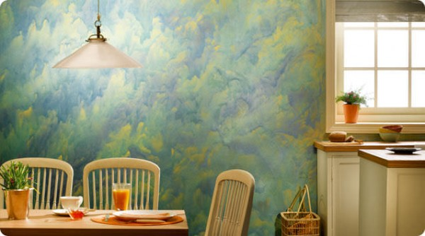 metal-look-paint-asian paints interior colour