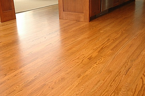 natural red oak hardwood floor images