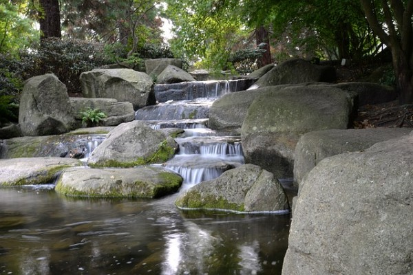 terraced chinese rock garden pictures