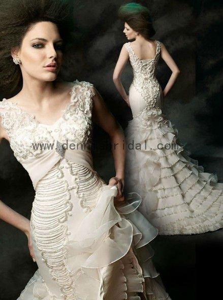 unique bridal gowns pinterest