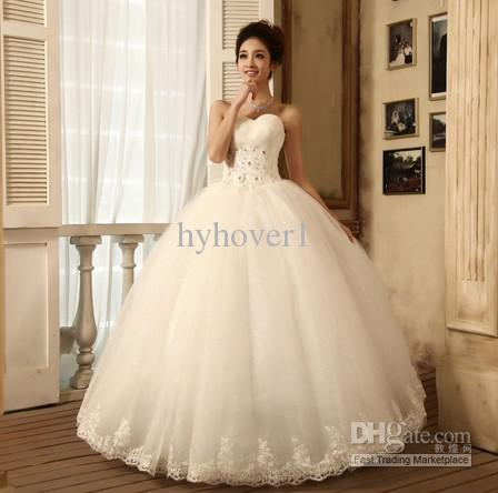 wedding-dress-new-2013-v-collar-korean-princess