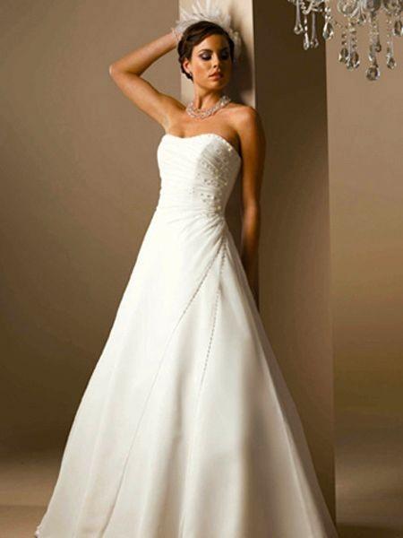 cheap-strapless-wedding-dress-tus1325