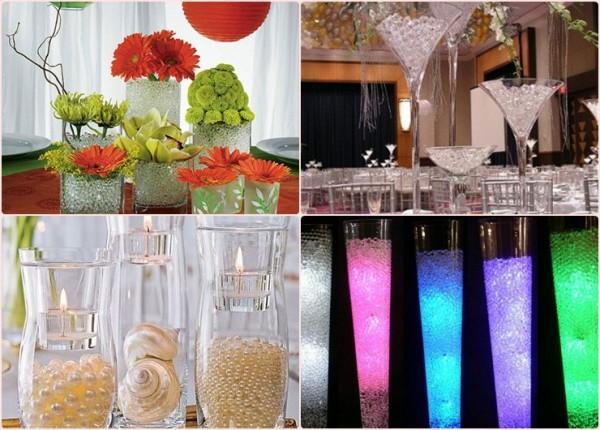 cheap-wedding-decor-ideas-water-pearls