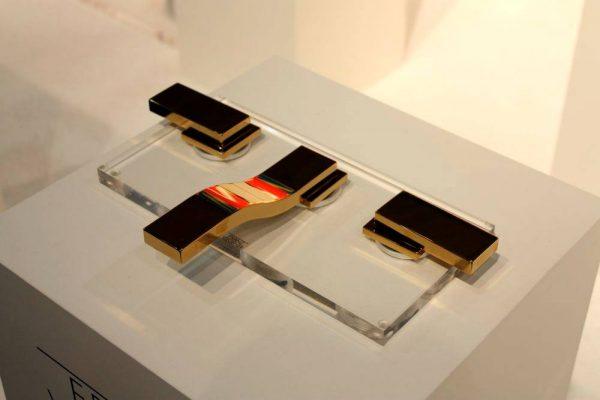 Gold plate fantini rubinetti