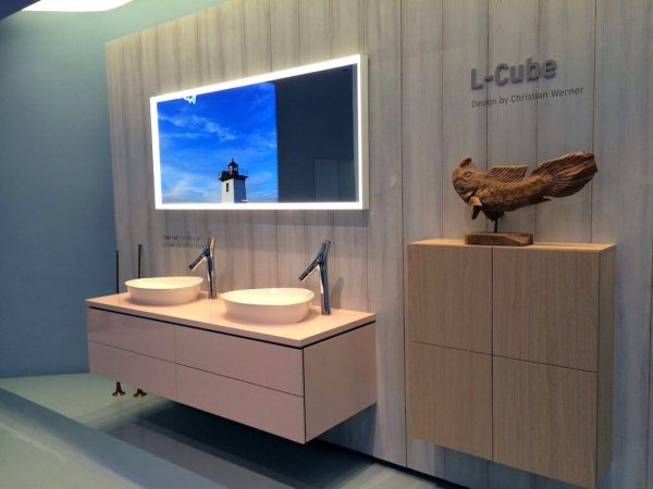 L cube bathroom fruniture from Christian Werner