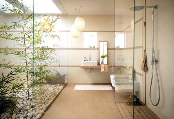 Bathroom courtyard
