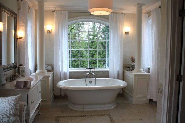 Master bathroom feel like spa