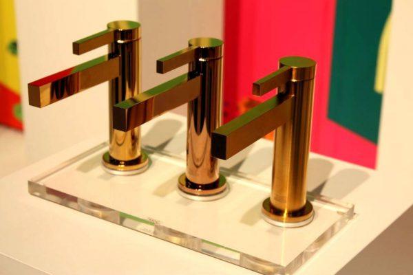 Modern gold fantini rubinetti