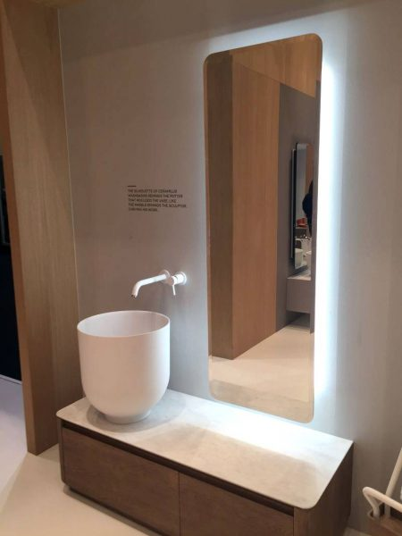ORIGIN Countertop wash basin from Ceramilux