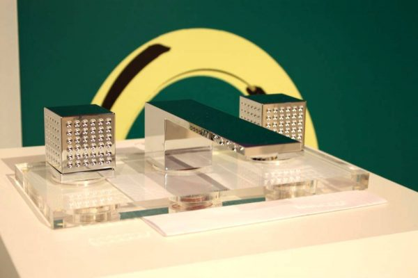 Plate crystals fantini rubinetti