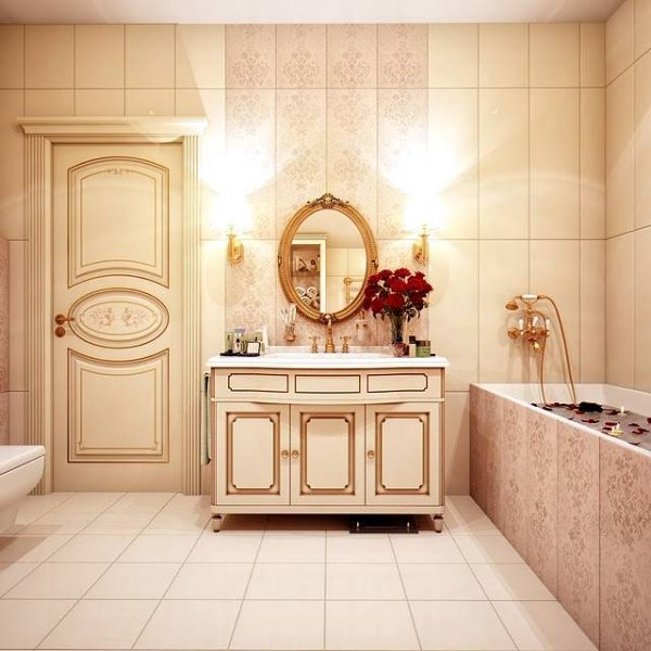 Russian style traditional bathroom