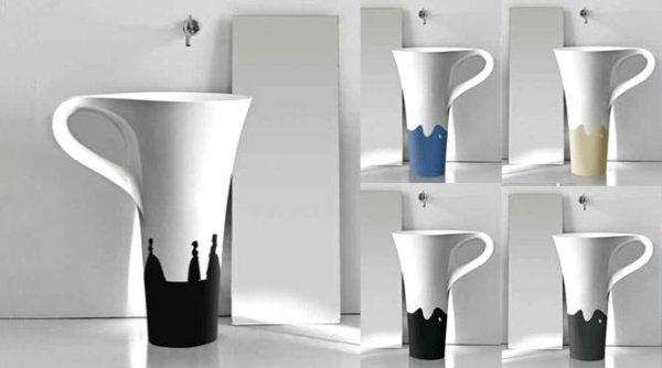 Silhouette design basins