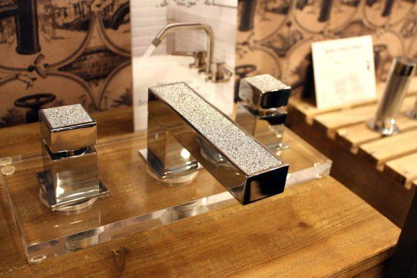 Watermark faucet bling