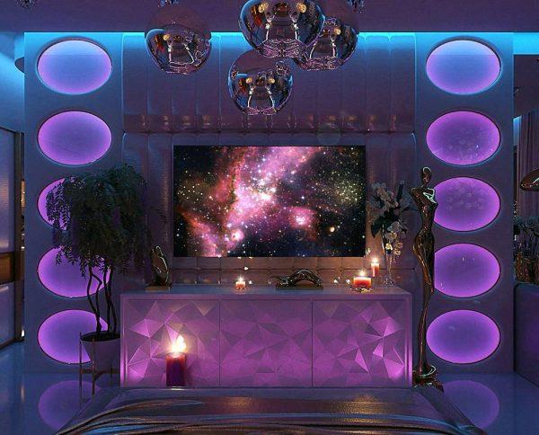 bedroom LED lighting inspiration