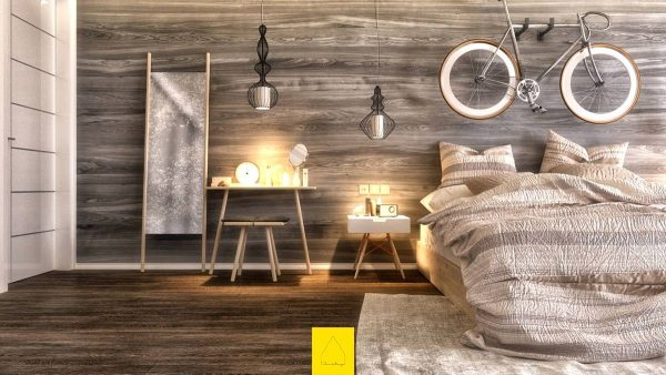 all wood bedroom decor ideas