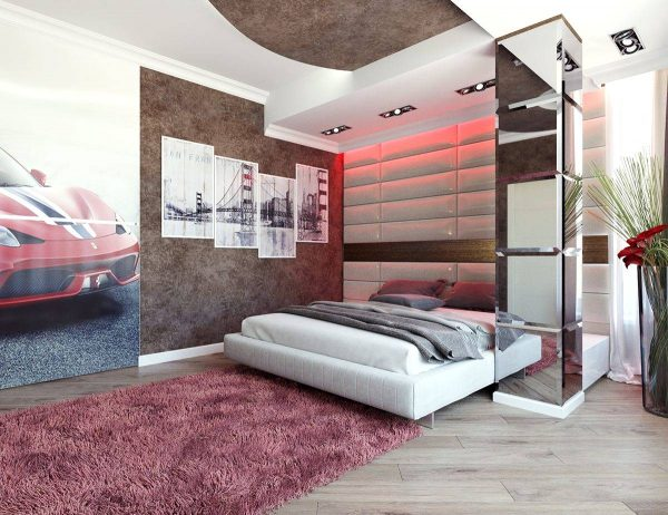 car themed bedroom for adult