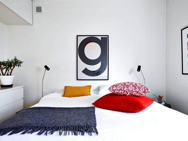de stijl inspired bedroom design