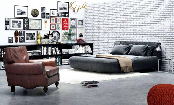 eclectic scandinavian bedroom decor