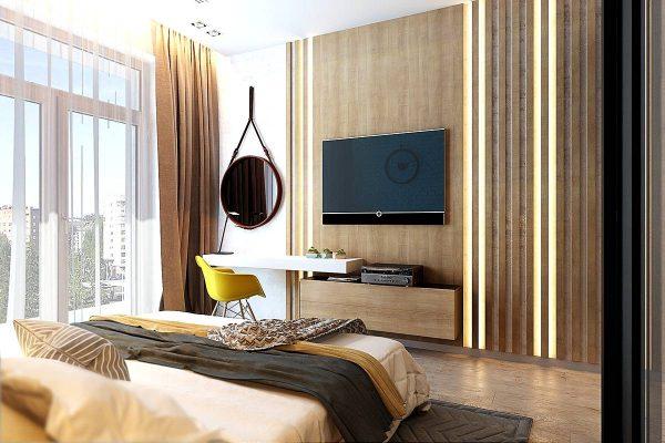 elegant-bedroom-accent-wall