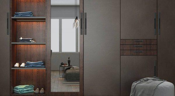 elegant bedroom storage