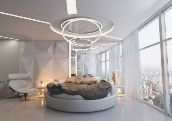 futuristic bedroom design
