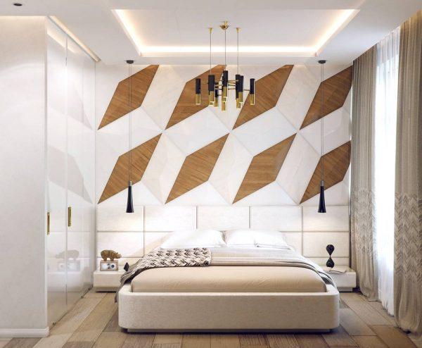 geometric bedroom inspiration