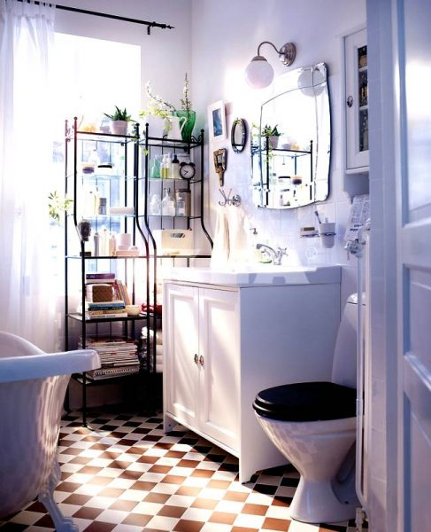 Modern IKEA bathroom