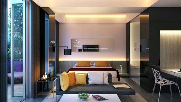 indirect bedroom lighting