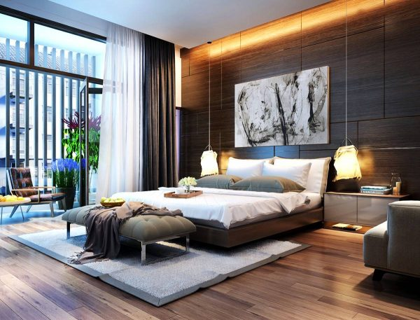 indirect lighting in the bedroom