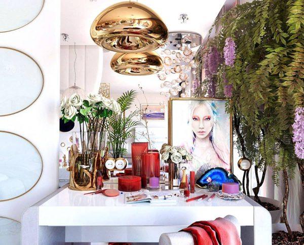 inspiring vanity arrangement