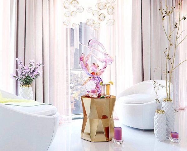 luxurious geometric decor