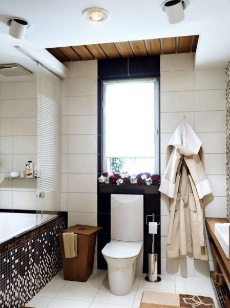 Monochrome bathroom design