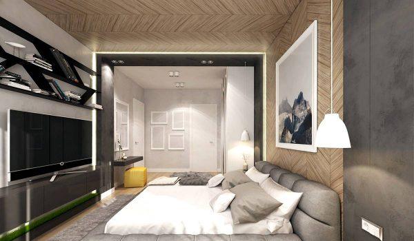parquet bedroom ceiling