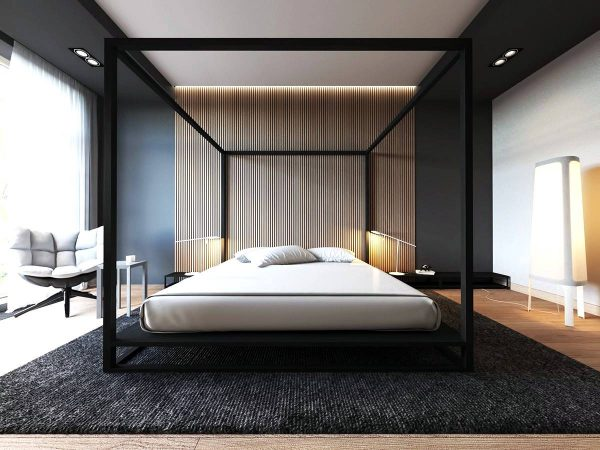 How to Decorate Bedroom with 'Luxury' Bedroom Wall and Stuffs