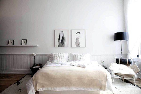 quintessential scandinavian bedroom ideas