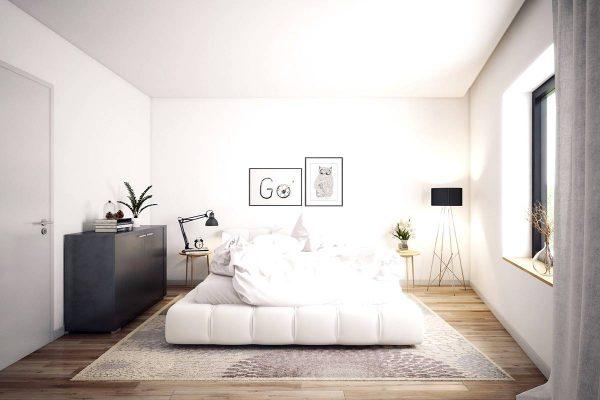 simple scandinavian bedroom ideas