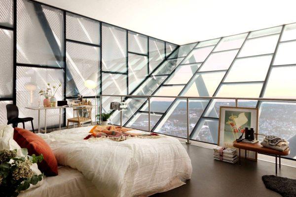 ultra modern scandinavian bedroom inspiration