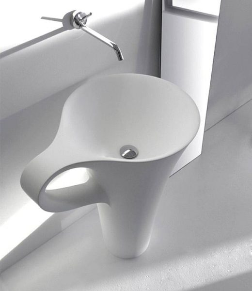 white coffee cup basin
